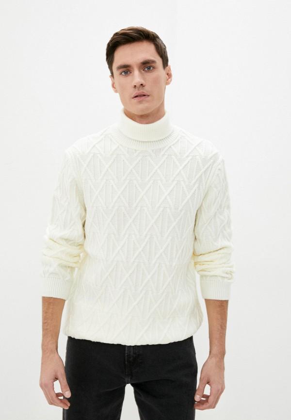 мужской свитер colin's, белый
