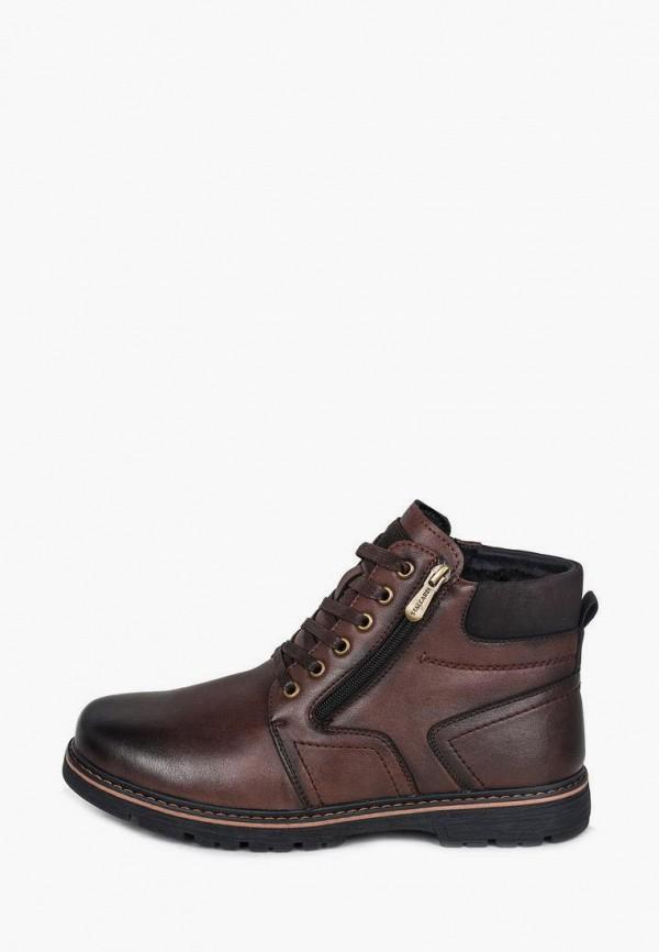 мужские низкие ботинки t.taccardi, коричневые