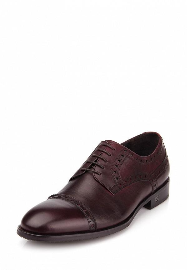 мужские туфли ditto, бордовые