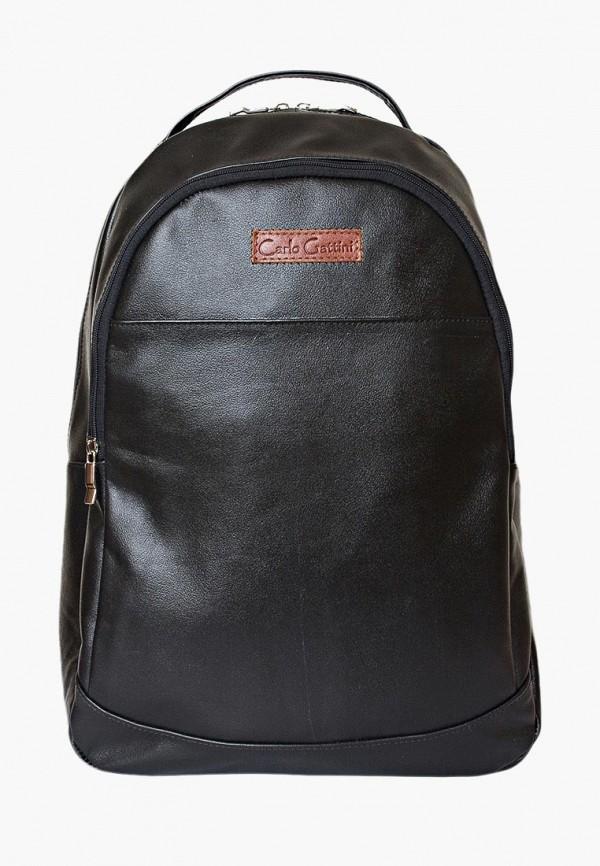 мужской рюкзак carlo gattini, черный