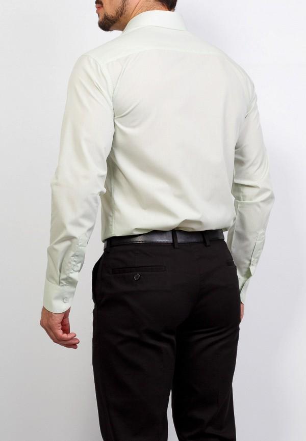 Фото 3 - Мужскую рубашку Casino зеленого цвета