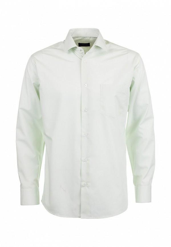 Фото 5 - Мужскую рубашку Casino зеленого цвета