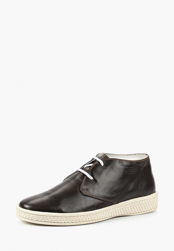 мужские высокие ботинки woodland, коричневые