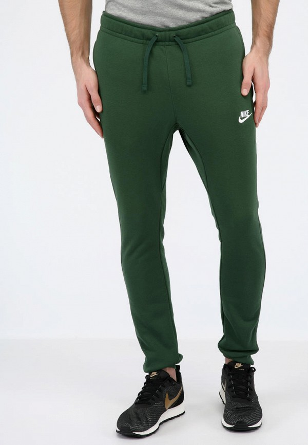 мужские спортивные спортивные брюки nike, зеленые