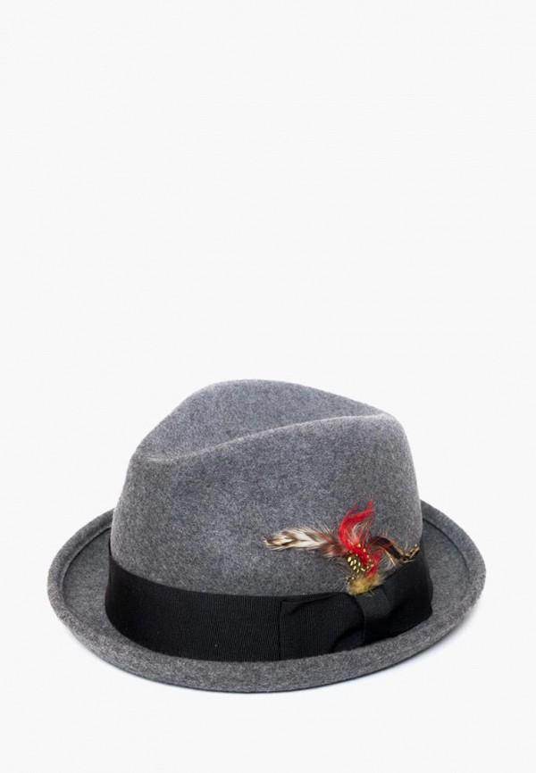 мужская шляпа elegant, серая