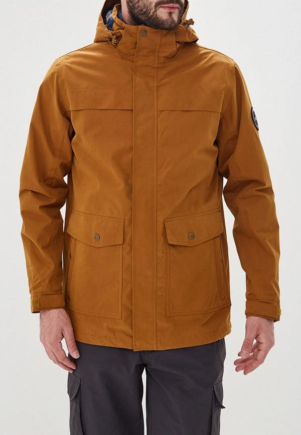 мужская куртка trespass, коричневая