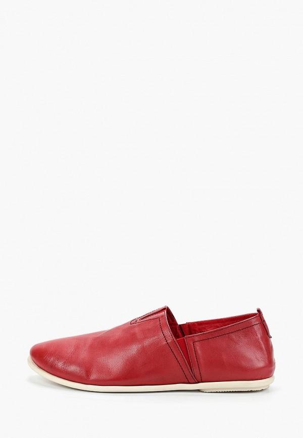 мужские слипоны franco bellucci, красные