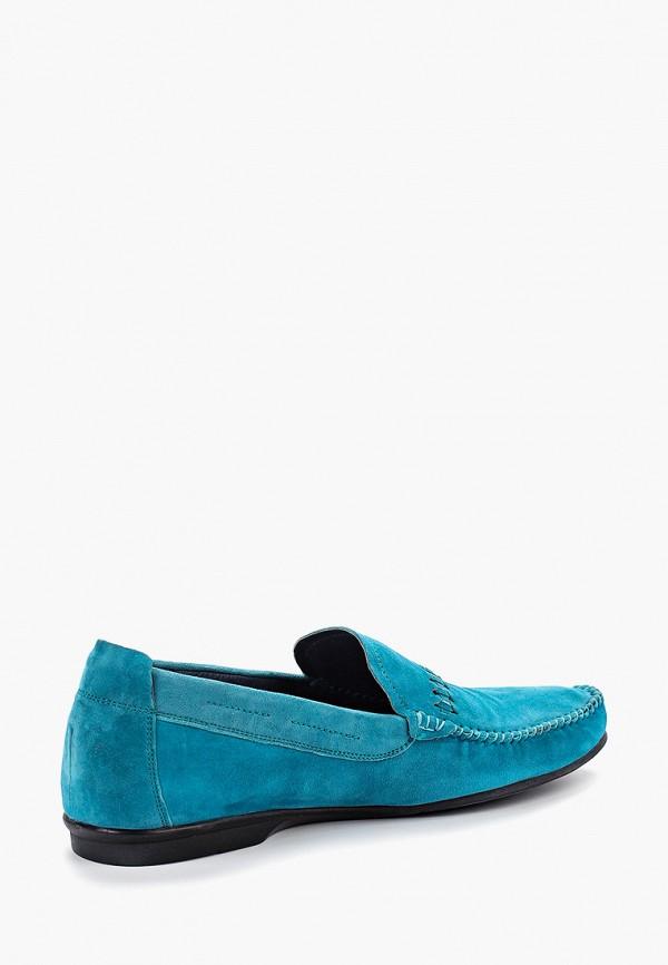 Мокасины Franco Bellucci цвет бирюзовый  Фото 3