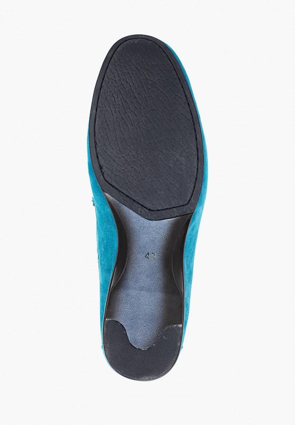Мокасины Franco Bellucci цвет бирюзовый  Фото 5