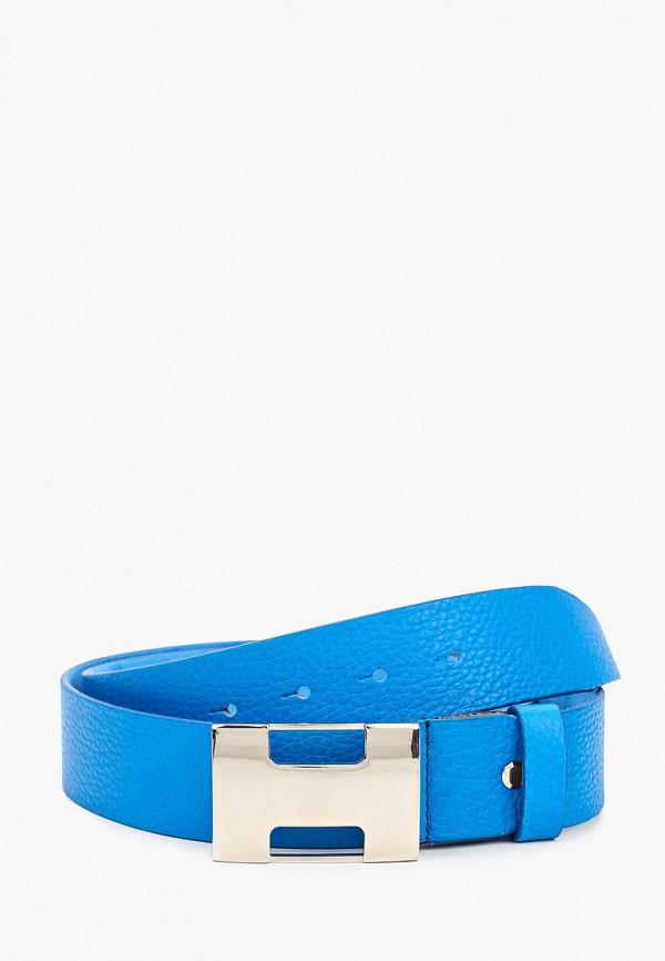 мужской ремень olio rosti, синий