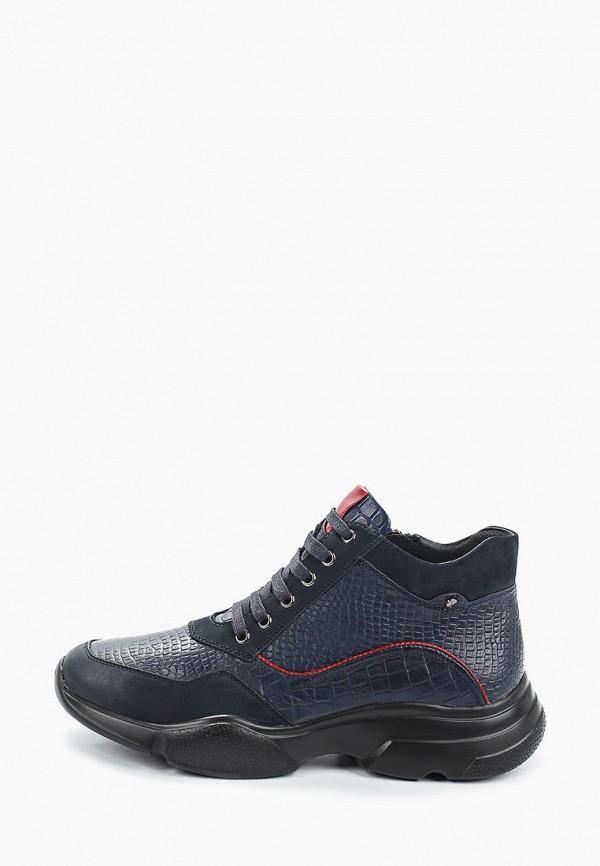 мужские высокие кроссовки franco bellucci, синие