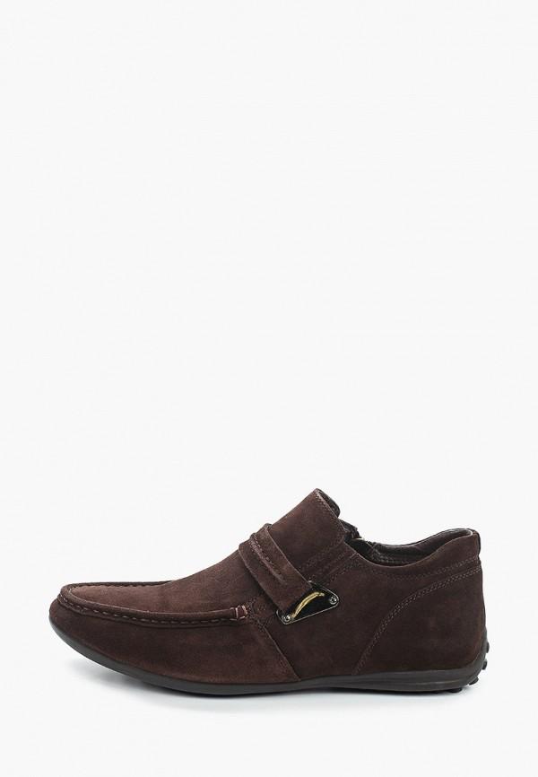 мужские низкие ботинки franco bellucci, коричневые