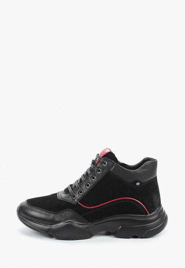 мужские высокие кроссовки franco bellucci, черные