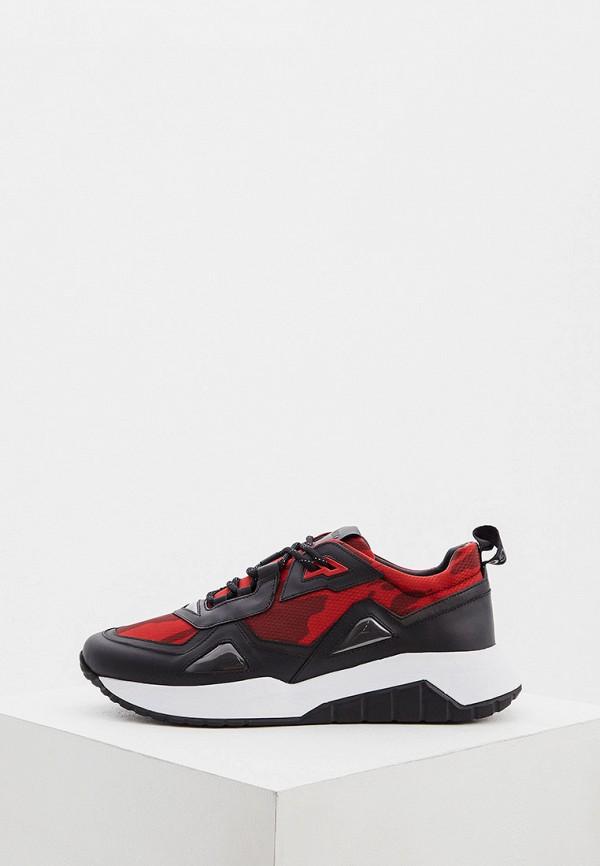 мужские низкие кроссовки hugo, красные
