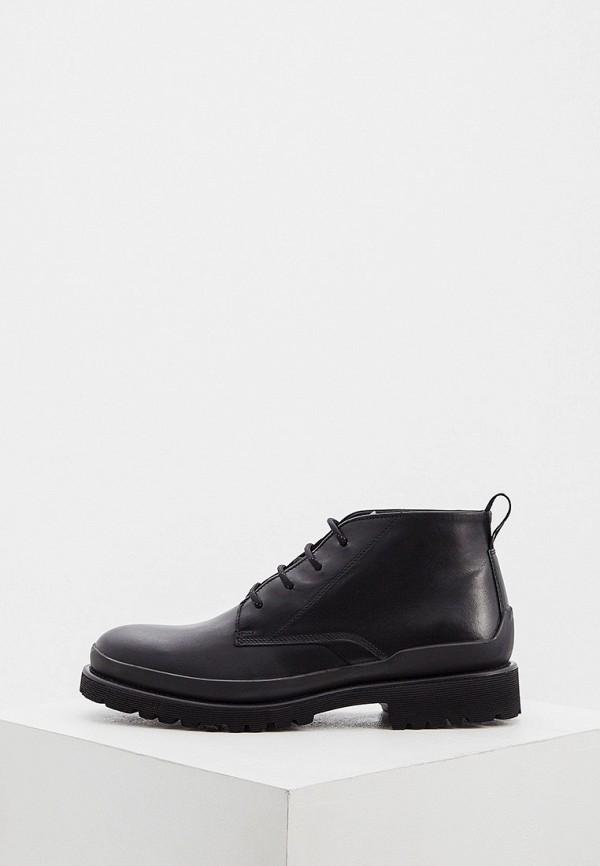 мужские высокие ботинки hugo, черные