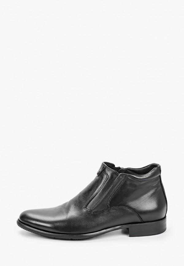 мужские высокие ботинки rossini roberto, черные