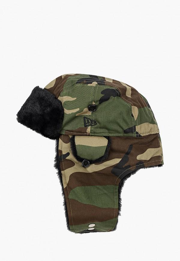 мужская шапка new era, хаки