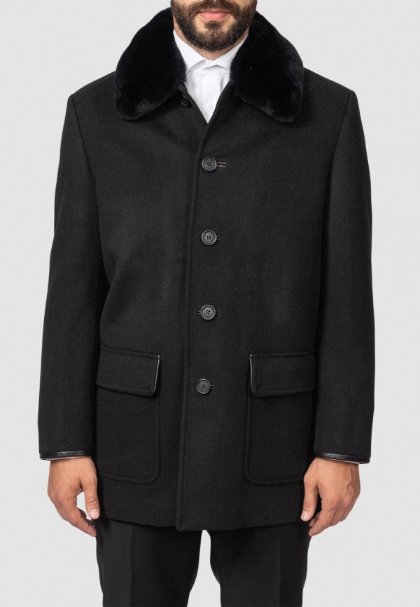 Пальто Kanzler черного цвета