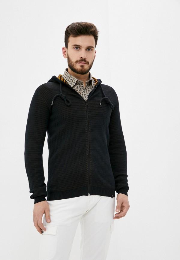 мужской кардиган indicode jeans, черный