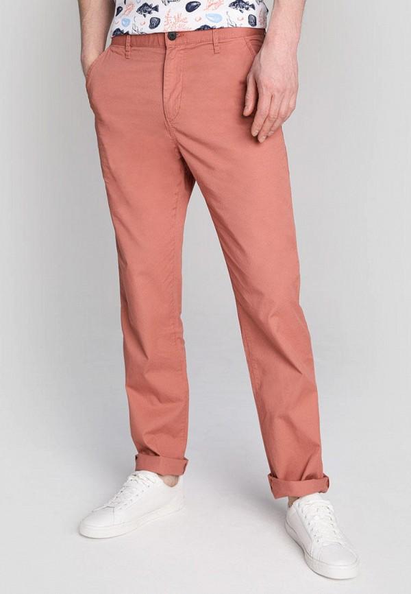 мужские повседневные брюки o'stin, розовые