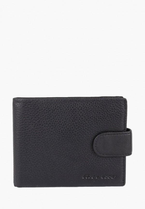мужской кошелёк de esse, черный
