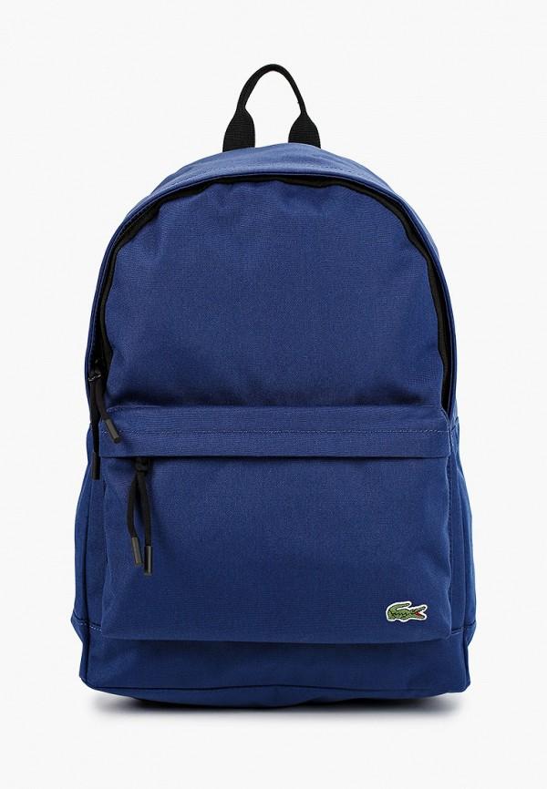 мужской рюкзак lacoste, синий