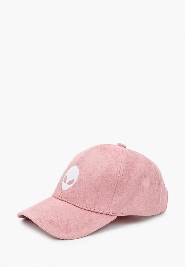 мужская бейсболка красная жара, розовая