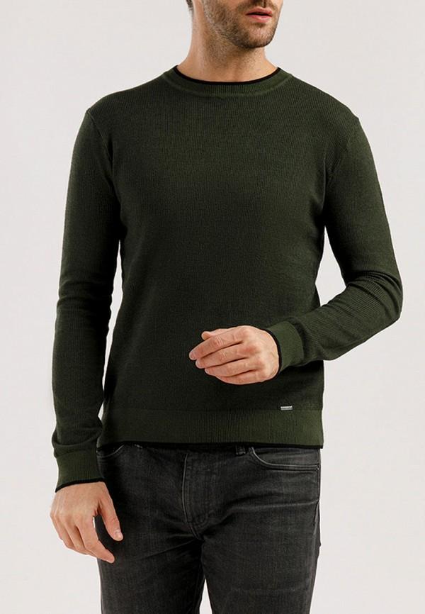 мужской джемпер finn flare, зеленый