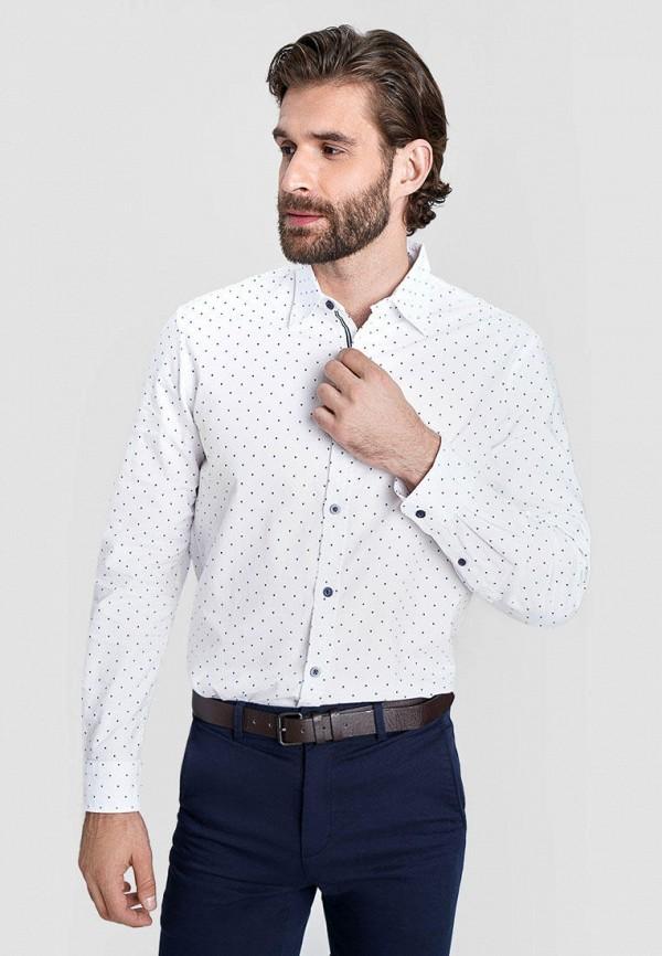 мужская рубашка с длинным рукавом o'stin, белая