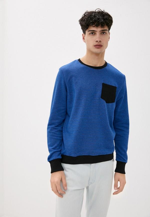мужской спортивные свитшот blacksi, синий
