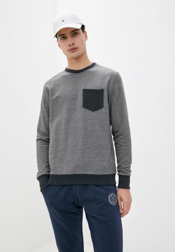 мужской спортивные свитшот blacksi, серый