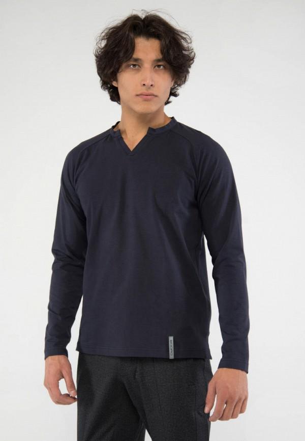 мужской лонгслив bodro design, серый
