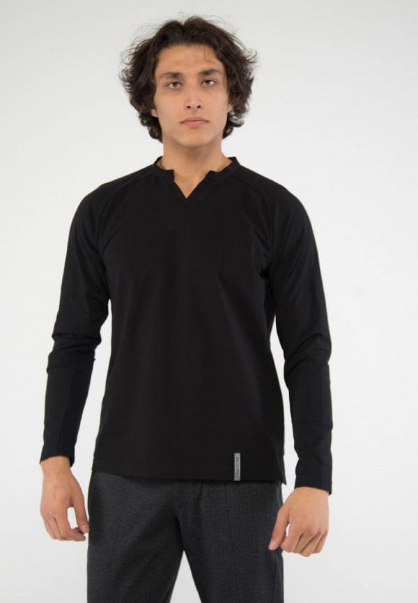 мужской лонгслив bodro design, черный