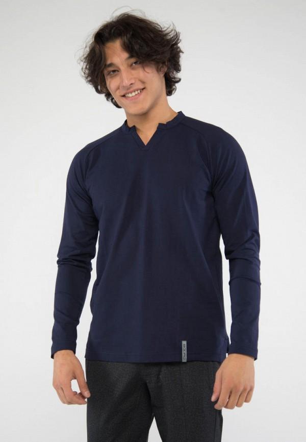 мужской лонгслив bodro design, синий