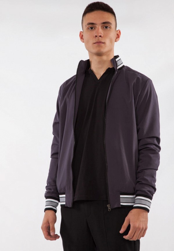мужская куртка bodro design, серая