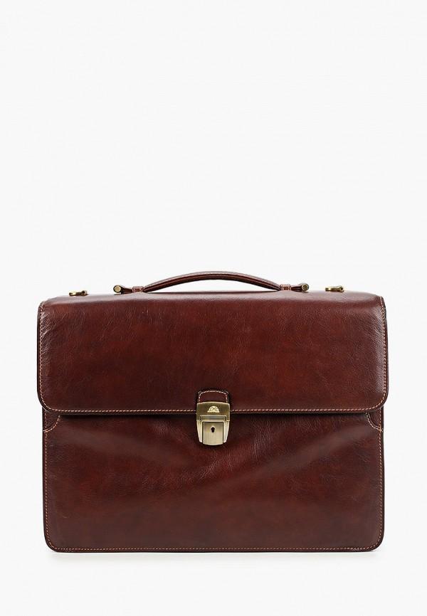 мужской портфель tony perotti, коричневый