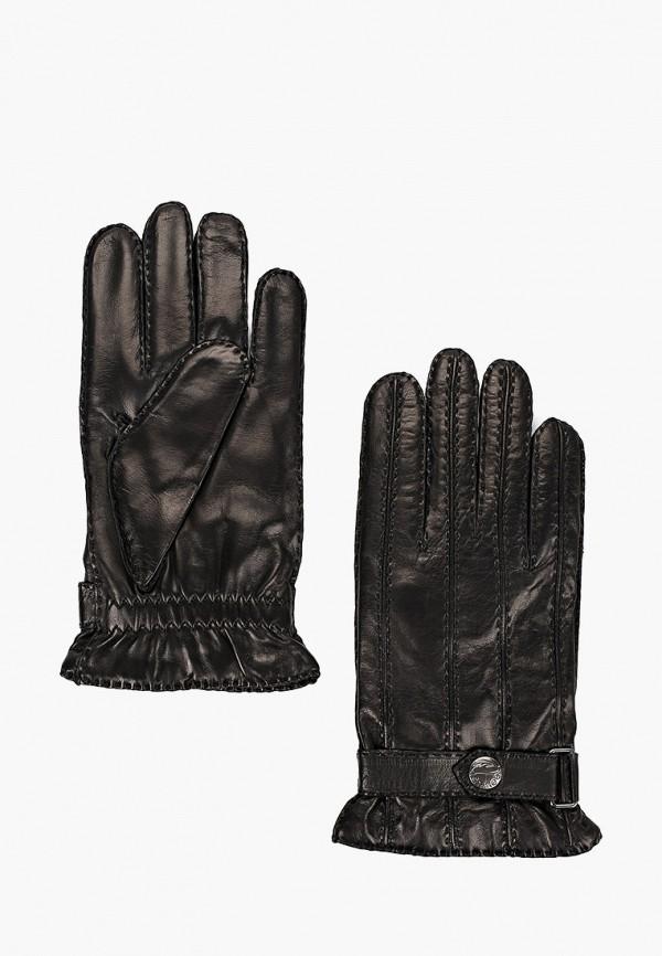мужские кожаные перчатки esmee, черные