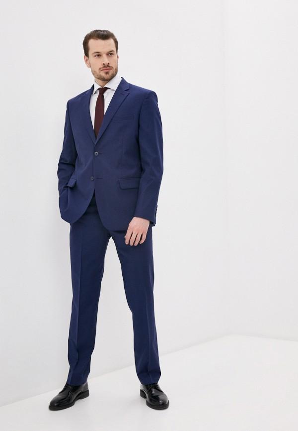 мужской классические костюм bazioni, синий