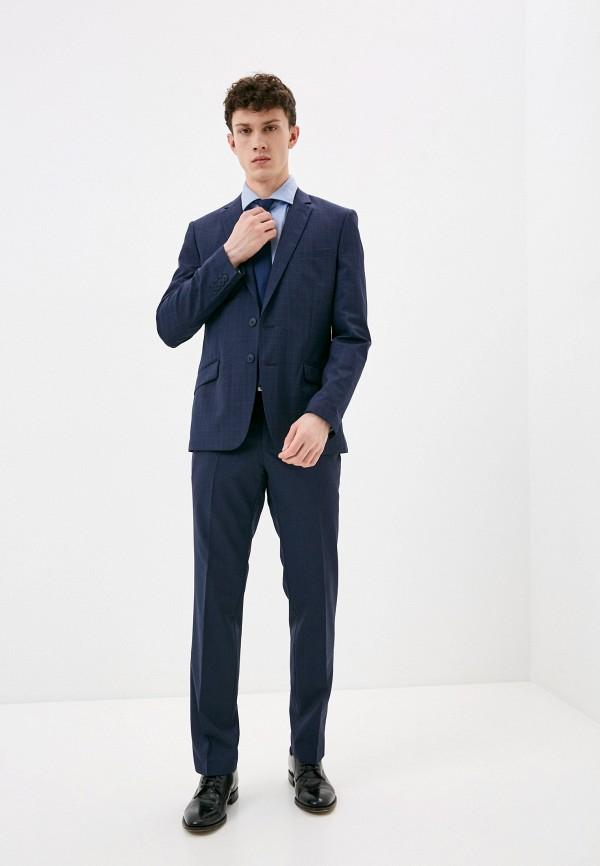 мужской костюм bazioni, синий