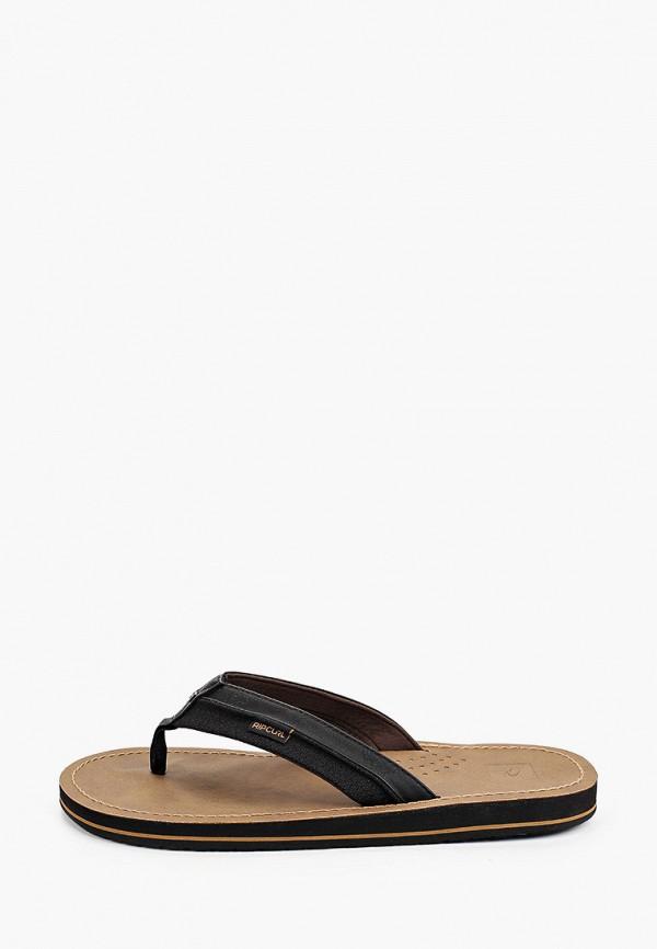 мужские сандалии rip curl, черные