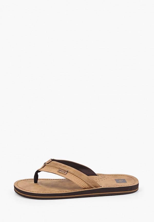 мужские сандалии rip curl, коричневые