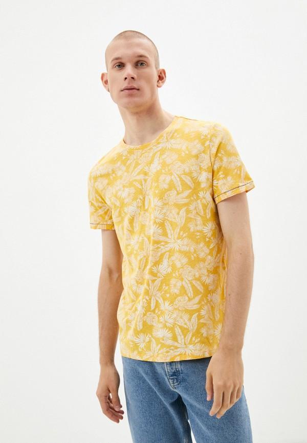 Футболка Colin's желтого цвета