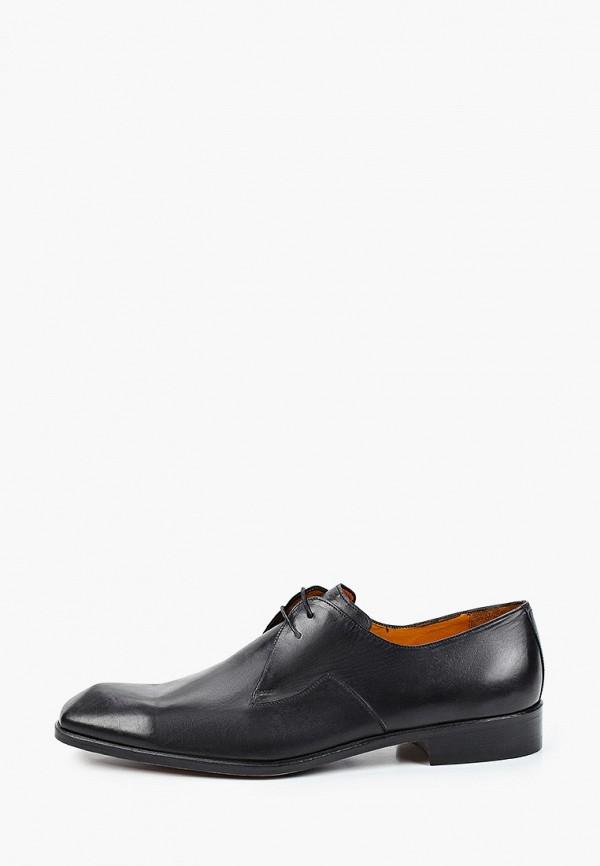 мужские туфли-дерби dgs52, черные