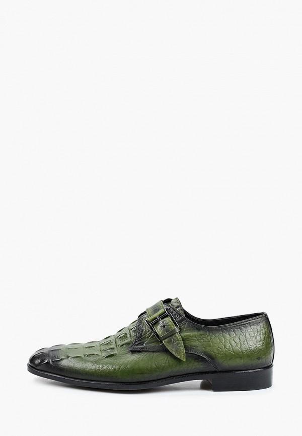 мужские туфли dgs52, зеленые