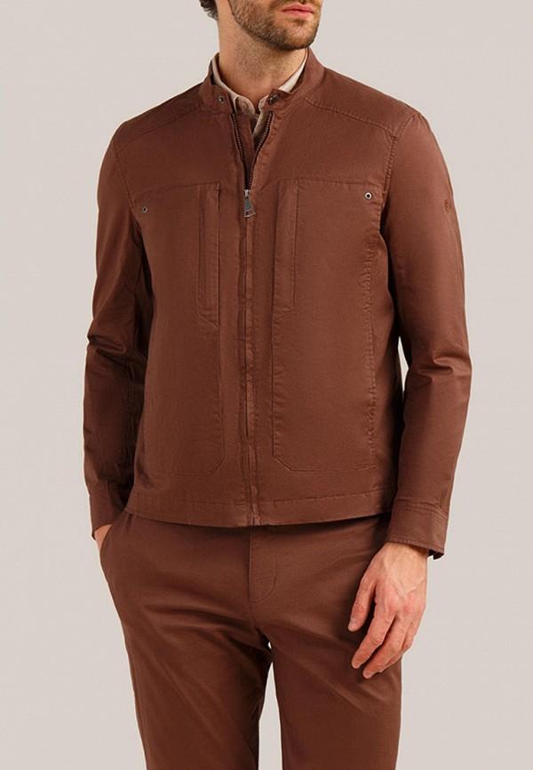 мужская легкие куртка finn flare, коричневая