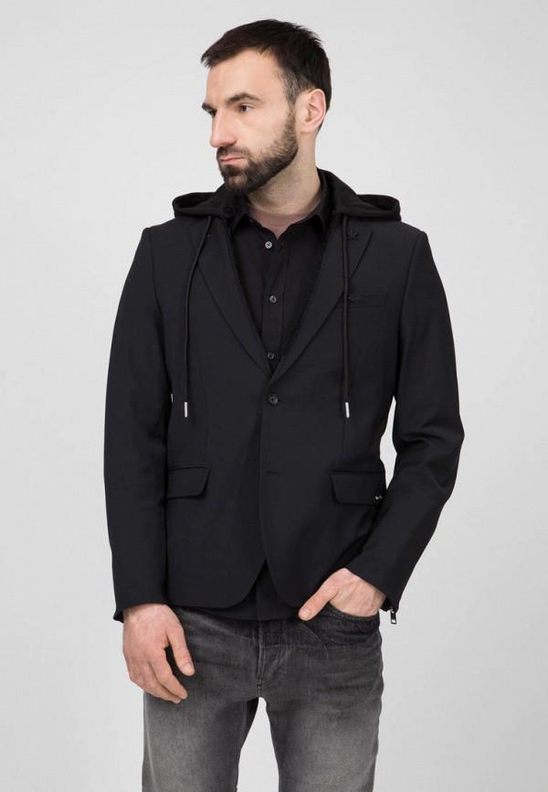 мужской пиджак diesel, черный