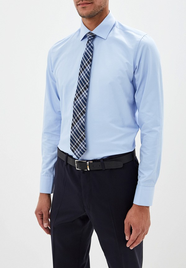 Фото - Рубашку Bawer голубого цвета