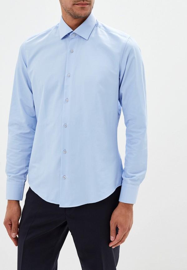 Фото 4 - Рубашку Bawer голубого цвета