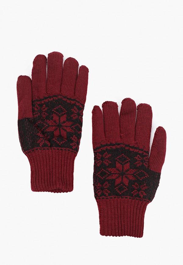 мужские текстильные перчатки kaftan, бордовые
