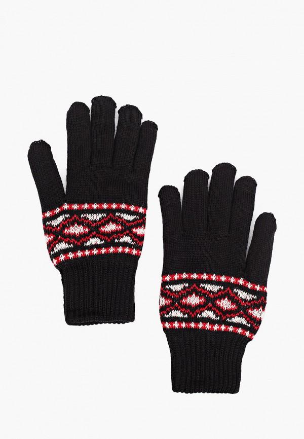 мужские текстильные перчатки kaftan, черные
